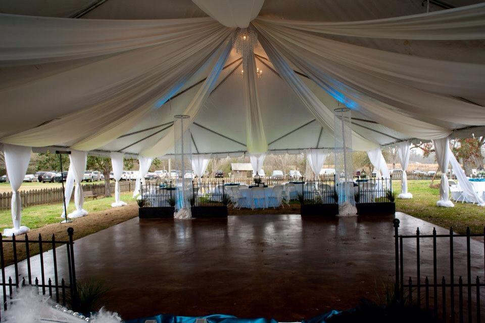 wedding tent new orleans