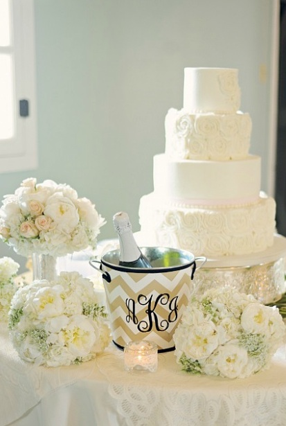 Albany Plantation Wedding Cake